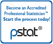 Become an Accredited Statistician.