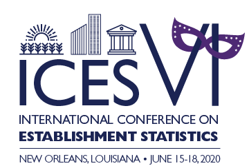 New Orleans June 2020 2020 Sixth International Conference on Establishment Statistics